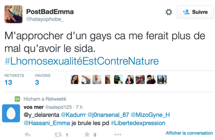 Mais l'homophobie, ça n'existe pas voyons... la preuve !