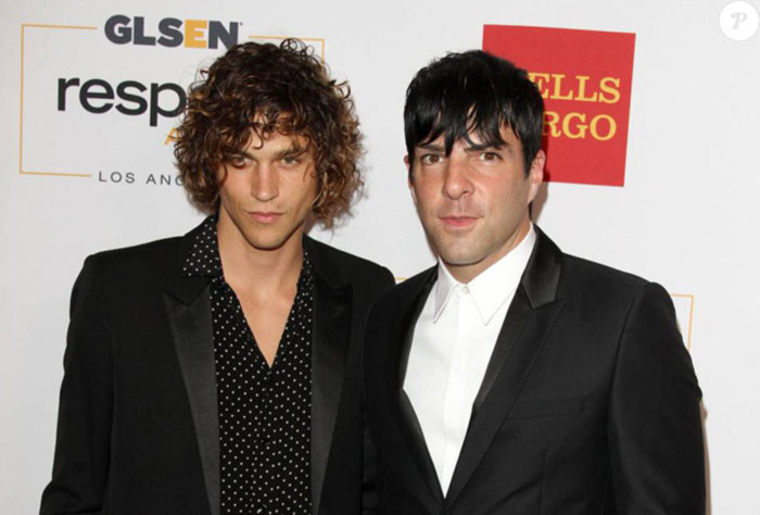Sur le tapis rouge des GLSEN Respect Awards : Zachary Quinto officialise sa relation avec son compagnon