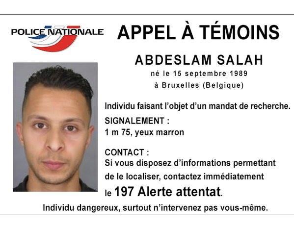 Attentats de Paris : Salah Abdeslam, suspect encore en fuite, aurait été aperçu dans plusieurs bars gays de Bruxelles