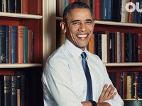 Hommage à Barack Obama en couverture du magazine gay « Out » : « Notre président - Allié, héros, icône »