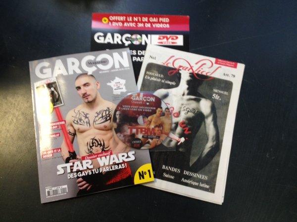 Sortie en kiosque ce vendredi du tout nouveau « Garçon Magazine » : 128 pages de contenu dédié à la communauté