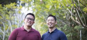 Kenneth Chee et Gary Lim
