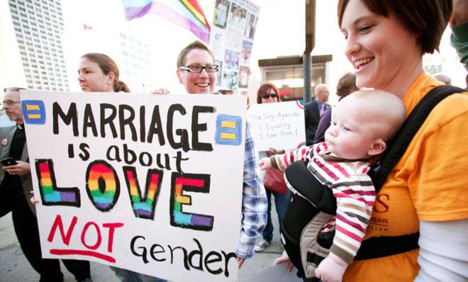 États-Unis : Près de 100.000 mariages entre personnes de même sexe célébrés en quelques mois