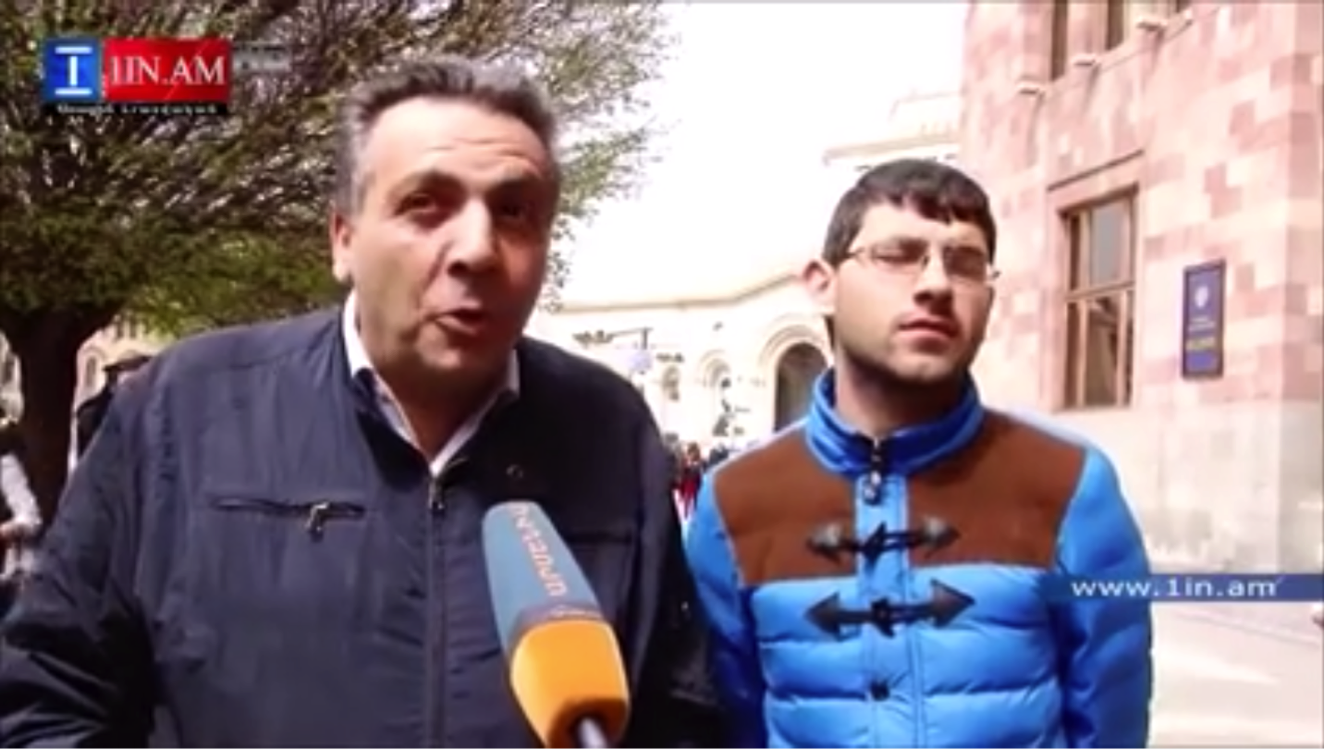 Erevan : « Outing » du président homophobe du mouvement socialiste en Arménie
