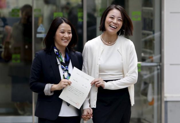 Tokyo : Délivrance de certificats « symboliques » aux couples homosexuels afin qu'ils soient reconnus en tant que famille
