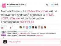 """La blague de l'année ? """"La Manif Pour Tous est un mouvement spontané qui lutte contre l'homophobie"""""""