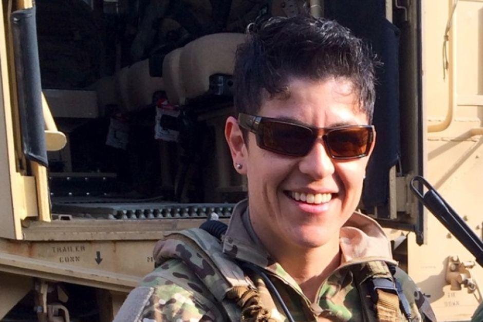 Hommage : Adrianna Vorderbruggen, symbole de l'intégration des homosexuels dans l'armée américaine, tuée en Afghanistan