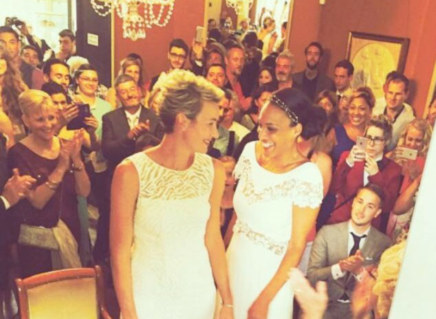 Basket montpelliérain : Elodie Godin et sa coéquipière Naomi Halman se sont mariées