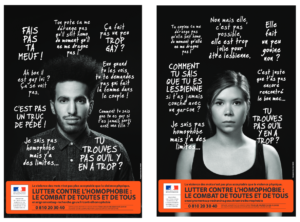 Lutte contre l'homophobie - campagne