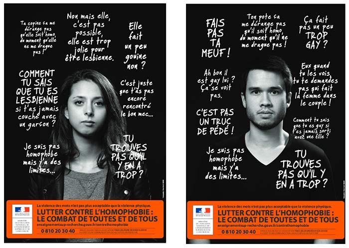 Lutte contre l'homophobie : une campagne nationale pour prévenir les violences et les discriminations et accompagner les victimes