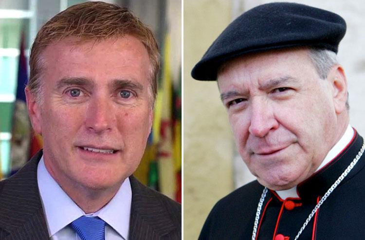 Quand l'archevêque de Saint-Domingue conseille à l'ambassadeur ouvertement gay des États-Unis d'être « une bonne épouse »
