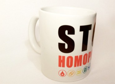 Mug : Stop Homophobie
