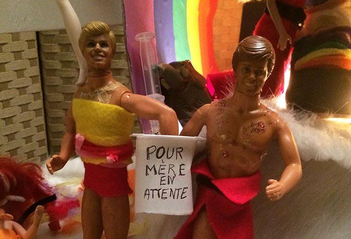 Photos : Une crèche spéciale « PMA » à Marseille, pour nous conter « le miracle de la nativité »
