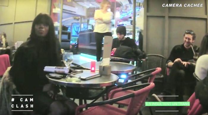 Cam Clash : Dans un café parisien, deux complices insultent une personne trans. Quelles seront les réactions ?