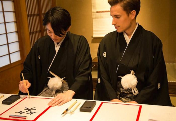 Vidéo : Vivre l'expérience du mariage samouraï ou traditionnel japonais lorsque l'on est un couple de même sexe