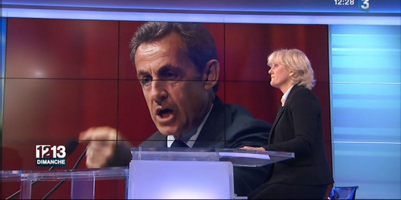 """Match retour : Nadine Morano dénonce le """"revirement"""" de Sarkozy sur le mariage pour tous (VIDEO)"""