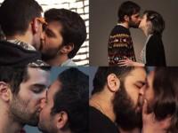 Tel-Aviv : Pour briser le tabou, couples juifs et arabes, gays et hétéros s'embrassent face à la caméra