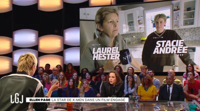 Vidéos. De passage à Paris, Ellen Page revient sur son combat pour l'égalité des droits : « Il reste encore beaucoup de choses à faire »