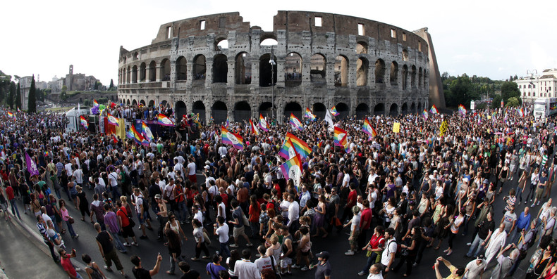 A propos du projet de loi d'union civile pour les couples de même sexe : l'offensive feutrée des catholiques italiens