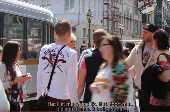 Expérience sociale : Et vous, réagiriez-vous si vous étiez témoin d'actes d'homophobie dans la rue ?