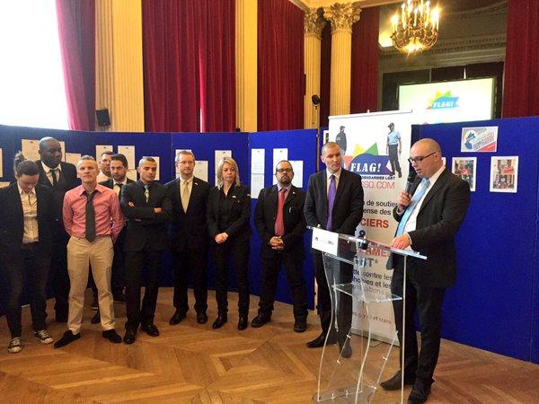 Flag ! dévoile les chiffres officiels 2015 de l'homophobie et la transphobie relevés en France par la Gendarmerie et la Police.
