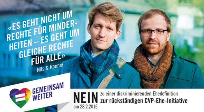 La Suisse rejette une initiative visant à interdire le mariage pour les personnes de même sexe