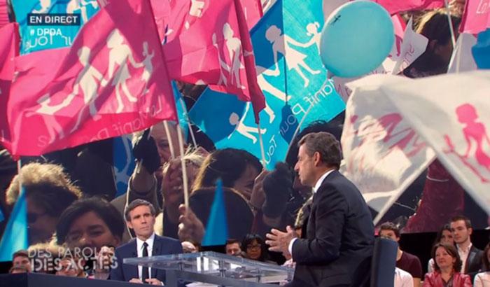 Nicolas Sarkozy sur France 2 : « homo ou hétéro, on a besoin d'amour, et l'amour d'une reconnaissance sociale »