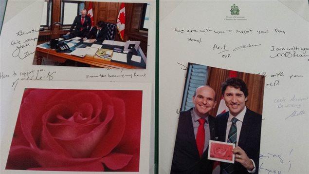Interpellé par le témoignage d'un jeune homme victime d'homophobie, Justin Trudeau lui adresse ses encouragements