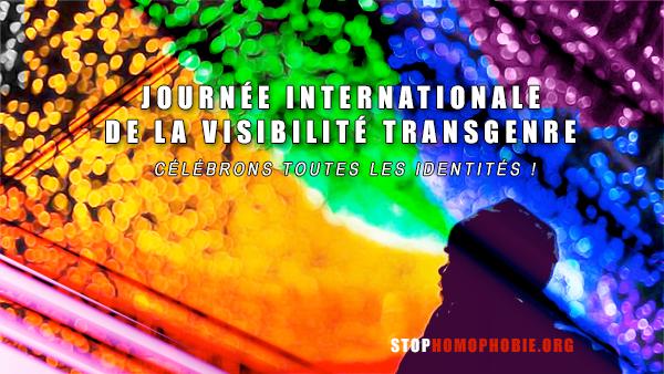 A l'occasion de la Journée Internationale de la Visibilité Transgenre, célébrons toutes les identités !