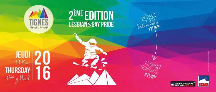 La « Gay & Lesbian Pride » de Tignes affirme sa tolérance et lance la saison des Marches des Fiertés 2016