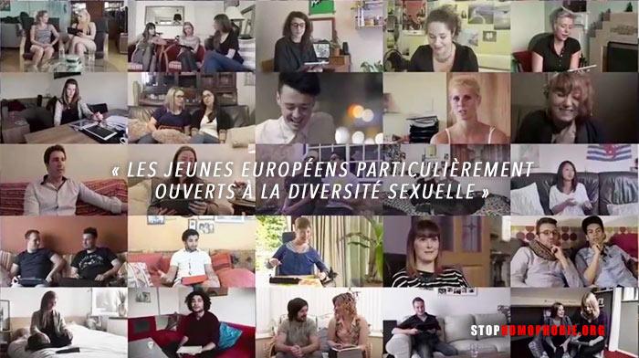 En dépit des fractures, « les jeunes Européens particulièrement ouverts à la diversité sexuelle » (VIDEO)