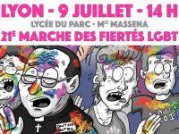 Lyon : Barbarin, Wauquiez, Barjot ou encore Boutin à l'affiche de la 21e édition de la marche des fiertés