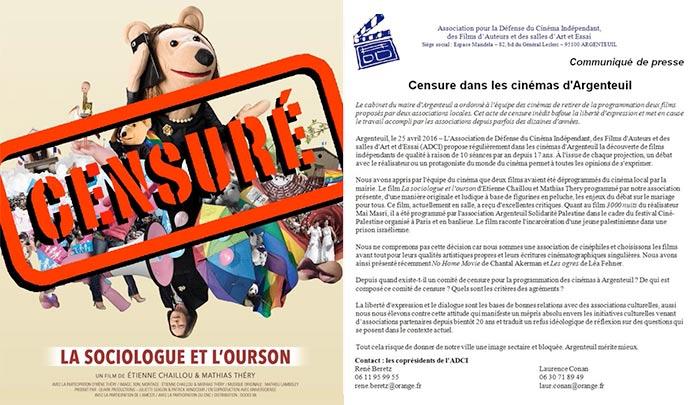 « Mariage pour tous » : Un rassemblement à Argenteuil contre la censure de « la Sociologue et l'ourson »