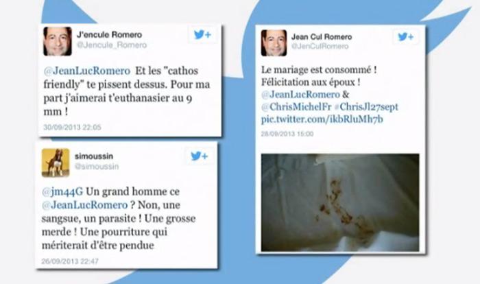 Tweets homophobes contre Jean-Luc Romero-Michel : le prévenu relaxé en appel « au bénéfice du doute »