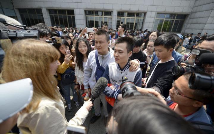 Chine : un tribunal déboute deux hommes qui souhaitaient se marier