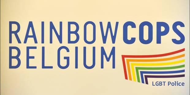 Belgian Pride 2016 : Première participation de la police bruxelloise en collaboration avec les Rainbow Cops