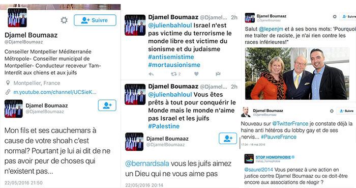 Homophobie, antisémitisme : le maire de Montpellier porte plainte contre Djamel Boumaaz