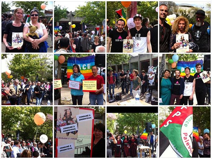 « La Sociologue et l'ourson » : Quelque deux cents manifestants pour dénoncer la censure à Argenteuil (VIDEOS/PHOTOS)