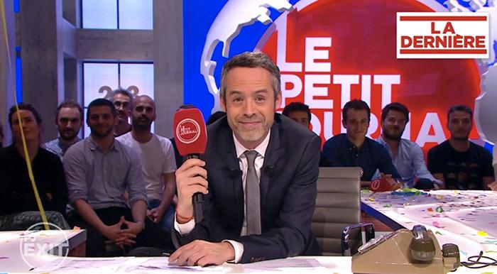 """Couronnement d'un compte à rebours : « Merci d'avoir regardé  """"Le Petit Journal"""", au revoir Canal + » (VIDEOS)"""