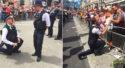 Londres : Deux policiers demandent leur compagnon en mariage en pleine Pride (VIDEOS)