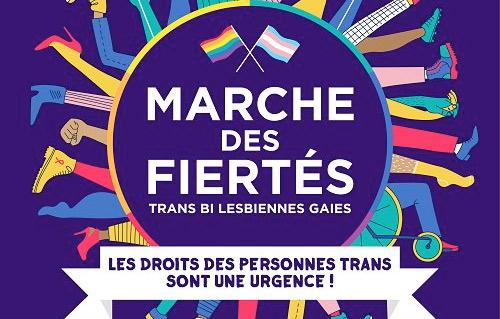 """""""Résolument inclusive et revendicative"""" : la Marche des Fiertés de Paris dévoile son affiche 2016"""
