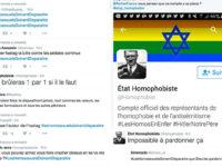 Homophobie sur les réseaux : compilation non exhaustive des menaces et messages que nous recevons !