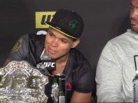 La brésilienne Amanda Nunes devient championne de MMA et fait son coming out à Las Vegas (VIDEO)