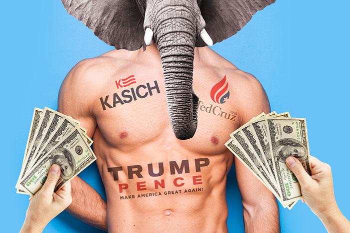 Présidentielle USA : Les « escort-boys » font un tabac à Cleveland lors de la Convention des Républicains