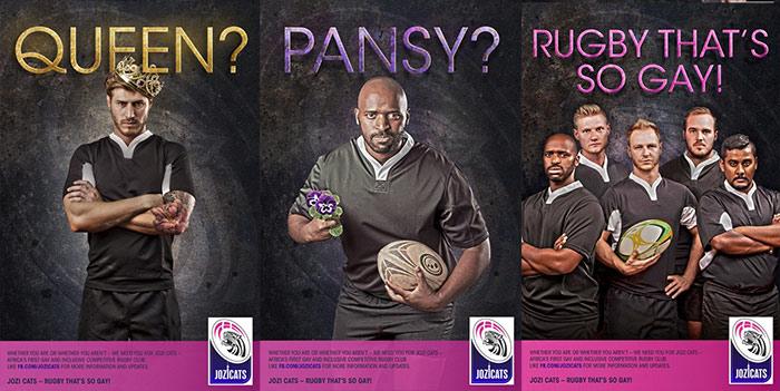 Des rugbymen Sud-Africains « en campagne » pour dénoncer les préjugés sur l'homosexualité (VIDEO)