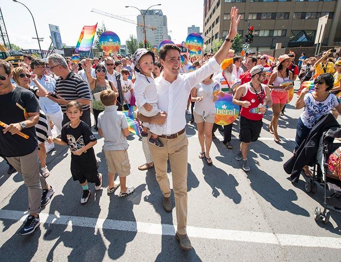 Fiertés LGBT : Des dizaines de milliers de personnes à la « Pride » de Toronto, ouverte par Justin Trudeau (VIDEOS)