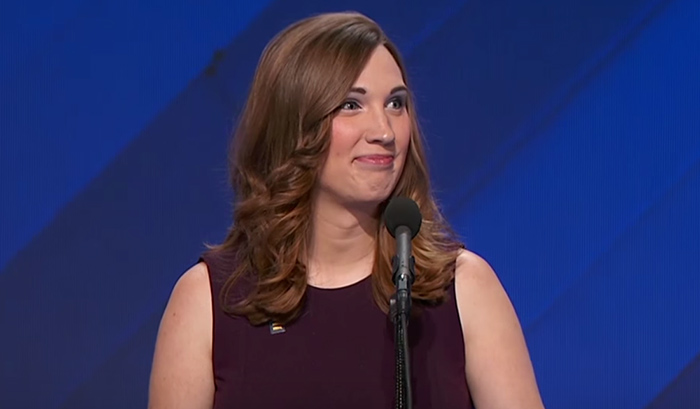 Les démocrates US offrent une tribune à Sarah McBride, première activiste transgenre à s'exprimer lors d'une convention nationale