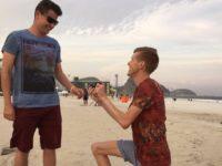JO 2016 : l'athlète britannique Tom Bosworth a demandé la main de son compagnon Harry Dineley