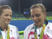JO : Les hockeyeuses Kate et Helen Richardson-Walsh, premier couple marié de même sexe « médaillé d'Or » à Rio (VIDEO)