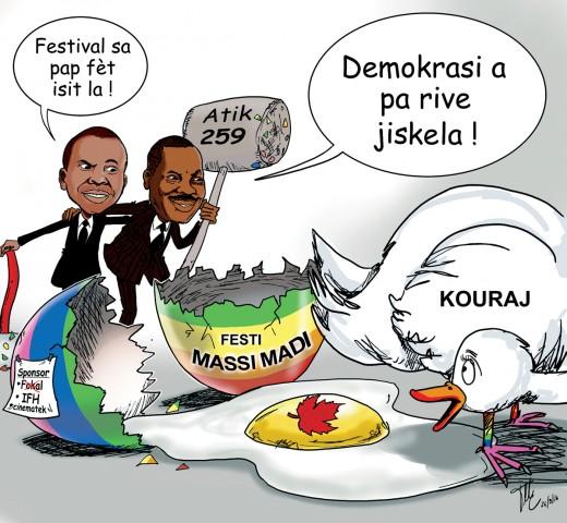 Haïti : Le festival « Massimadi », dédié aux réalités LGBTI, « retourne au placard » par mesure de sécurité